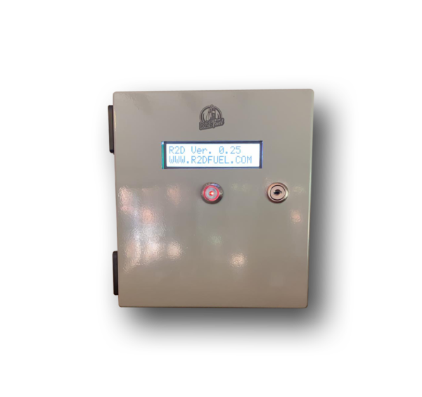 Fuel management controller in a secure box