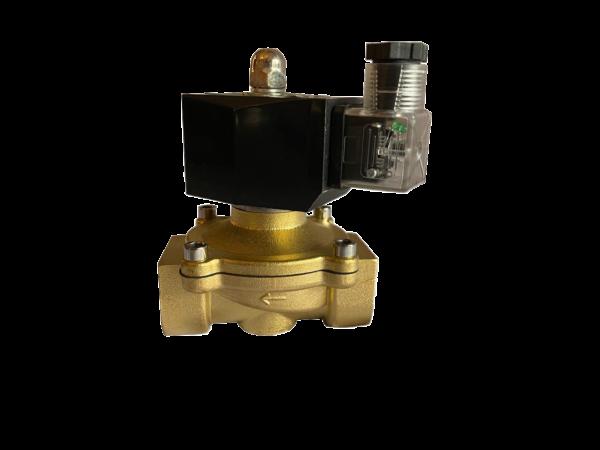 fuel management system flow control solenoid